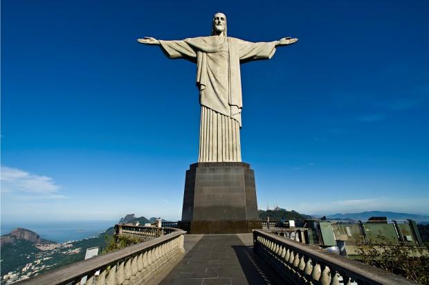 O Cristo Redentor é considerado uma das 7 maravilhas do mundo moderno