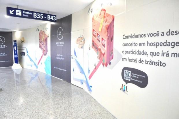 Empresa Plaza Premium Lounge pretende inaugurar hotel ainda este ano / Divulgação
